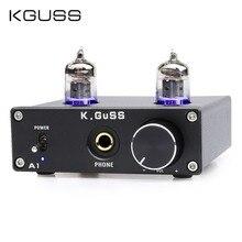 KGUSS A1 MINI 6J1 audio rury żółci wzmacniacz słuchawkowy NE5532 6K4 wzmacniacz słuchawkowy
