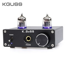 KGUSS A1 MINI 6J1 audio tube bile headphone amplifier NE5532 6K4 headphone amp bravo audio v3 eq equalizer tube headphone amplifier