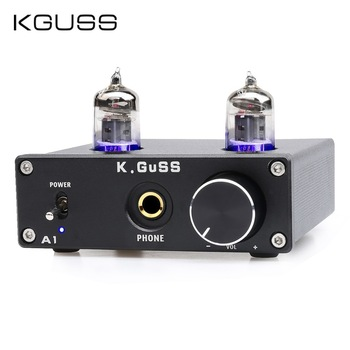 KGUSS A1 MINI 6J1 audio tube bile headphone amplifier NE5532 6K4 headphone amp mini 3 5mm headphone audio amplifier hifi headphone amplifier professional portable for mobile phones