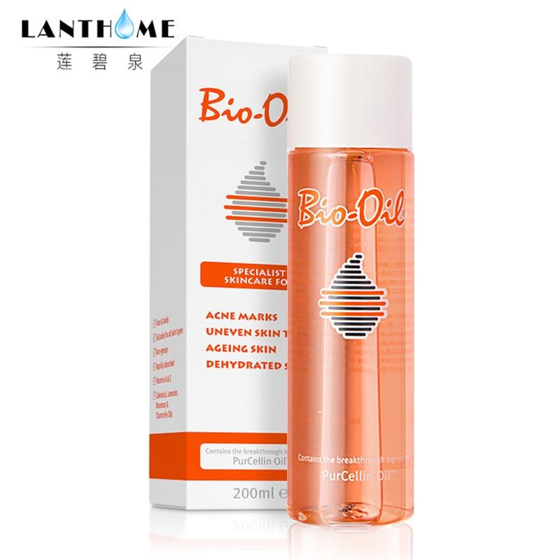 200ml 100% Australia Bio Oil Skin Care Ance Stretch Marks Remover Cream Remove Body Stretch Marks Uneven Skin Tone Purcellin Oil