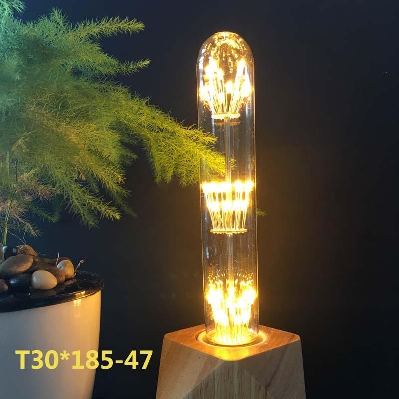 Light Bulbs G95 Diamond Starry Sky Lamp Led Edison Light Bulb E27 110v 220v 3w Firework Lamp Energy Saving Home Decor Christmas Gift Led Bulbs & Tubes