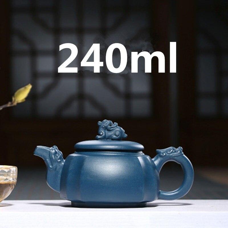 Chinese Porcelain Teapots Yixing Teapot Gongfu Tea Set Zisha Tea Pot 240ml New Arrived High Quality With Gift Box Safe PackagingChinese Porcelain Teapots Yixing Teapot Gongfu Tea Set Zisha Tea Pot 240ml New Arrived High Quality With Gift Box Safe Packaging