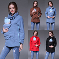 2016 NEW Maternity Fleece Hoodie Pullover for Babywearing BABY CARRIERS Plus Size Hot Sales