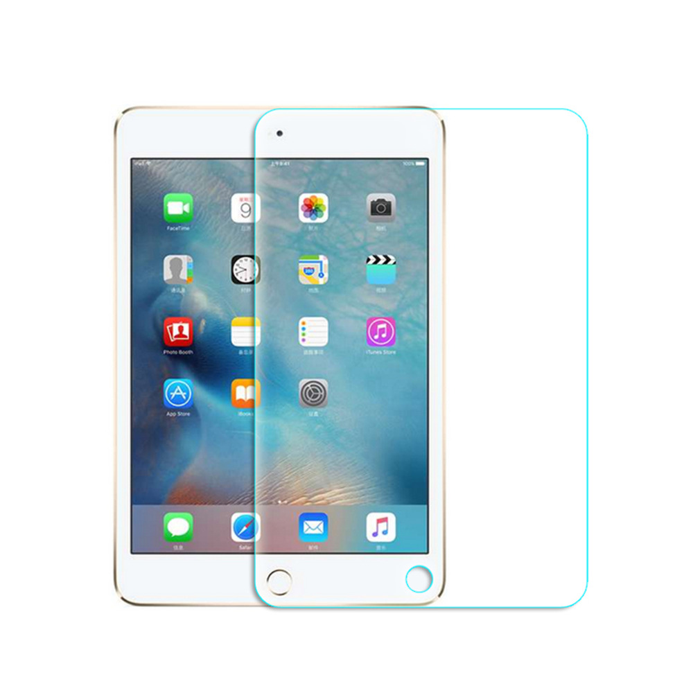 For Apple iPad 2/3/4 5/6 /pro 9.7 Clear Tempered glass Screen Protector Front LCD Screen Protective Film For iPad Air 1 2 glass sunshine protective clear pet screen guard film for htc one 2 m8 transparent 5 pcs