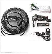 """8 """"48 V 400 W motor de cubo de rueda eléctrica, scooter eléctrico, kit de motor de cubo de rueda scooter eléctrico"""