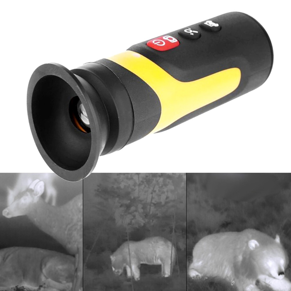 HT 320D Digital 2X Zoom Infrared thermal camera for Hunting Night Vision IR Hunting Optics for Night 320X240 NETD Resolution