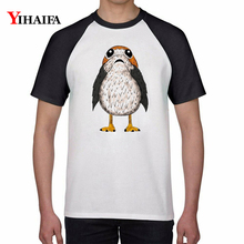 Summer T-shirt Harajuku Owl 3D Print Animal T-Shirt Mens Womens Graphic Tees Casual Tops White Cotton Unisex Top