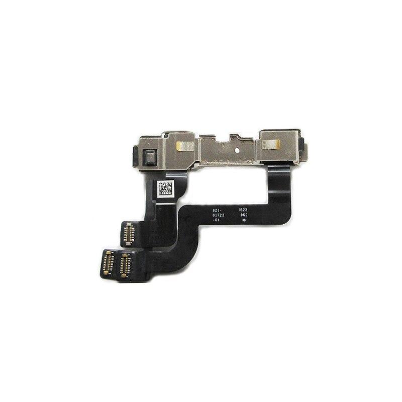 100% câble flexible de capteur de proximité de lumière d'essai avec le câble flexible de Microphone de caméra de face avant pour l'iphone XR pièces de rechange
