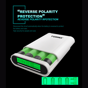 Image 5 - S4 DIY 4x18650 แบตเตอรี่ Li Ion Smart Power Charger 5V 2A อัจฉริยะ Currenty Distribution Powerbank กล่อง charger