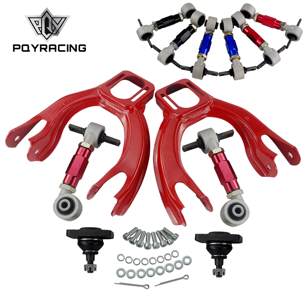 PQY FOR HONDA CIVIC 92 95 INTEGRA FRONT UPPER CONTROL ARM TUBE CAMBER KIT 92 00