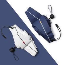 Sunny Rainy Umbrella Pocket Mini Umbrellas Anti UV Sun Rain Windproof  Light Folding Portable for Women Girl And Handy