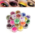 2017 Women 30pcs/set Brand Beauty Makeup Faced Eyeshadow Palette 30 Colors Eyeshadow Powder Mineral Eyeshadow Set Makeup Tools