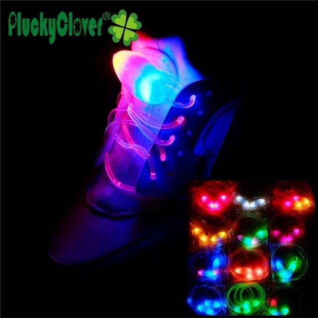 2 pcs/pair LED Rainbow Inline Skates Shoelace Flash Athletic Sport  Shoe Laces Strings Quad Skates Shoe Strings Sport Shoes Part