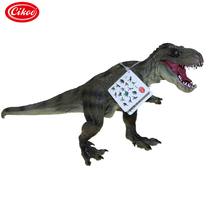 Children Toys Tyrannosaurus Rex Dinosaur Plastic Toy Figures Animal Model Collection Kids Birthday Gifts -17 AN88 цена