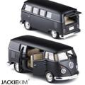 Modelos de automóviles de aleación modelo de coche bus vw matorrales aburrida caja toys