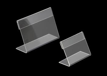 6*9cm Thickness 1.3 Mm Acrylic Name Table Card Price Tag Name Card Display Stand Holder Pop Label Tag Frame Holder Label Frame