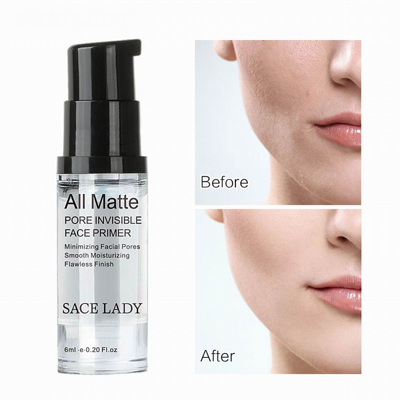Base Primer Makeup Liquid Matte Make Up Fine Lines Oil control Facial Cream Brighten Foundation Primer Cosmetic for Face in Primer from Beauty Health