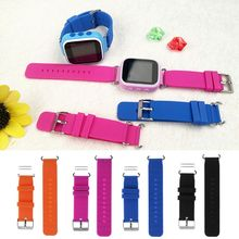 Kids Replacement Soft Silicone Wrist Band Watch Strap For Childs Smart