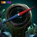 SKMEI мужские спортивные часы компас водонепроницаемые Модные часы обратный отсчет Chrono 3 Будильник цифровые наручные часы Relogio Masculino часы