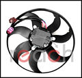 New Driver Left Engine Cooling Fan For Audi A3 TT Volkswagen CC Jetta GTI Passat