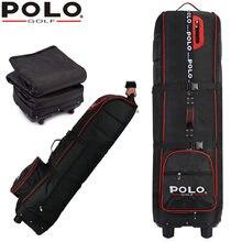 фирменное поло для гольфа толще мешок самолета с резиновым колесом, большой, содержащий пространство гибкое применение для гольфа полета мешок