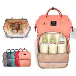 Land diaper bag mommy maternity nappy bags large capacity baby travel backpack desiger nursing bag baby.jpg 250x250
