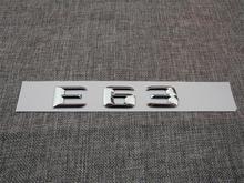 ABS Plastic Car Trunk Rear Letters Badge Emblem Decal Sticker for Mercedes Benz E Class E63