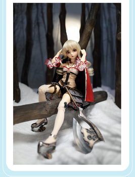 stenzhorn(stenzhorn) Bjd doll SD doll 1/4 girl doll fairyland minife risse joint doll (free eyes + free make up)
