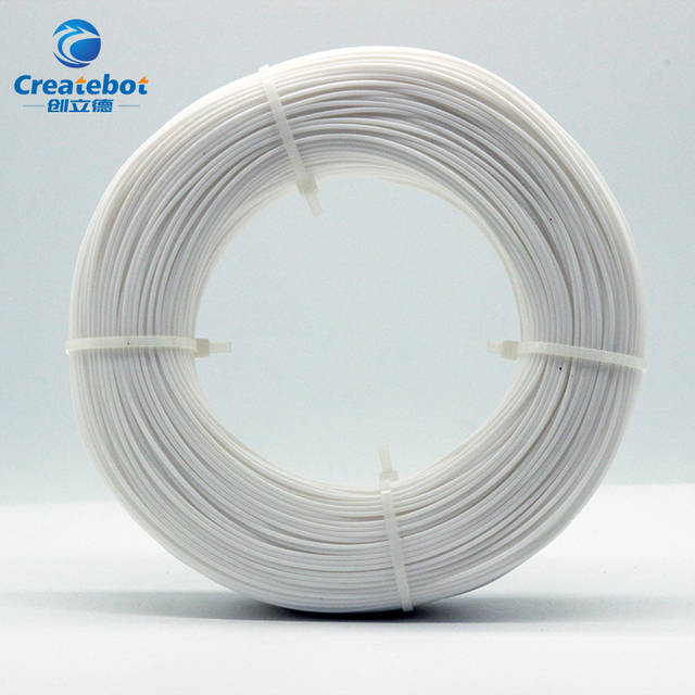 Createbot new generation PLA packing without  spool can reduce waste and is more  environmentally friendly 800g pla filament