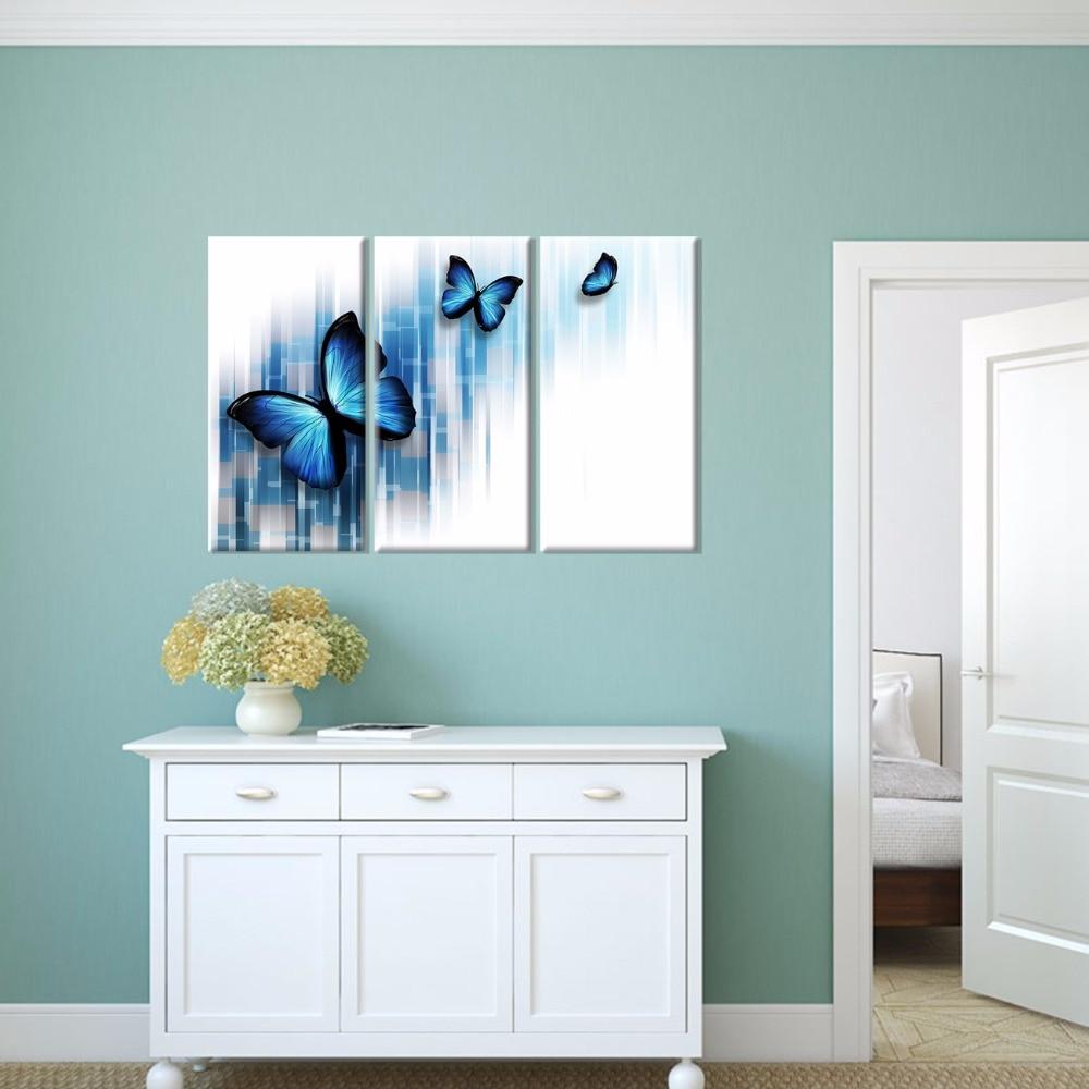 Bildenden Kunst Decor Nicht Gerahmte Schmetterling Wasser Farbe ...
