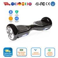 Originale mini intelligente 2 a due ruote di auto bilanciamento scooter elettrico hoverboard skateboard 6.5 pollice a basso prezzo hoover bordo