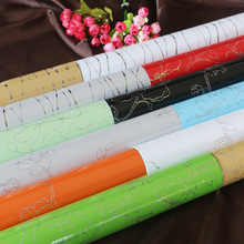 60cm wide classic Self-adhesive wallpaper laser Glossy Furniture renovation sticker Waterproof cabinet 5mdecoration film