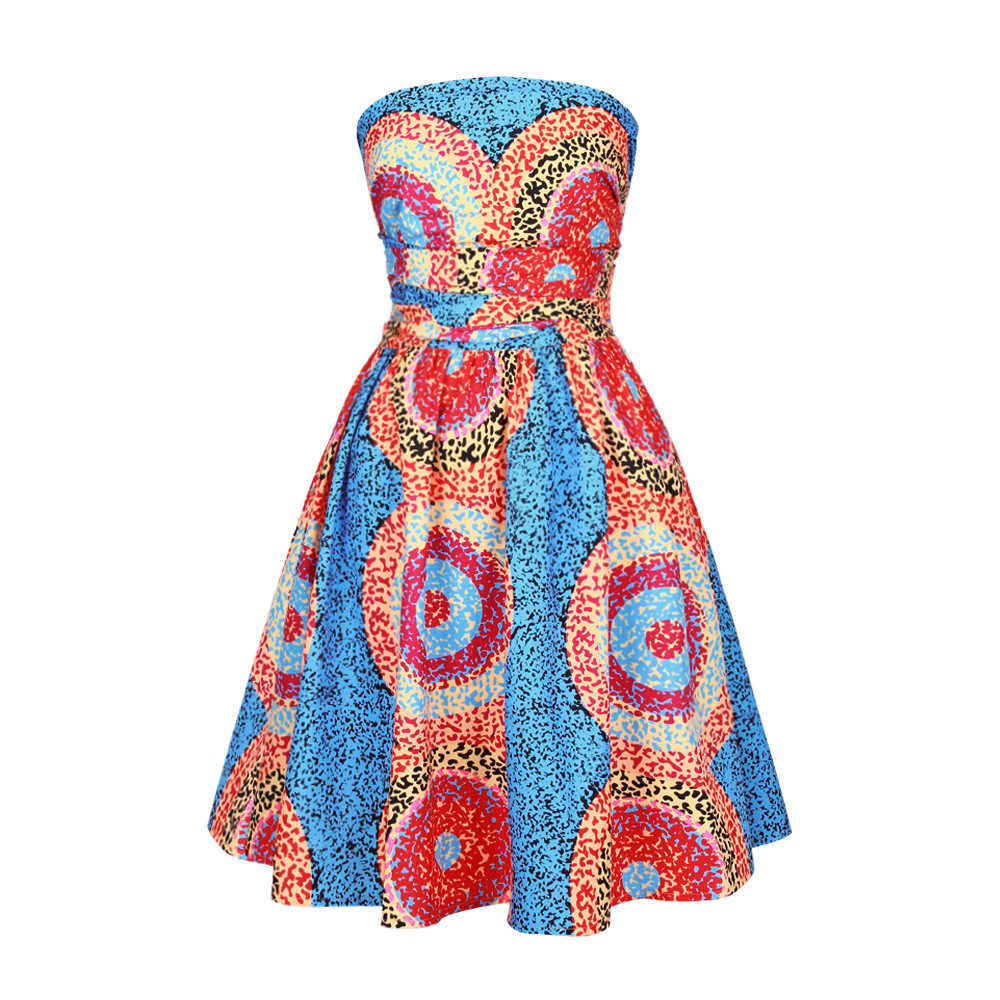 2019 African Dresses Design Fashion Digital Printing african women clothing