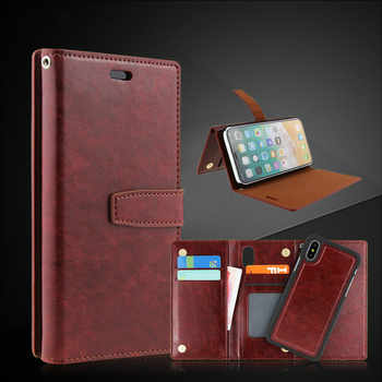 10PCS Sumgo For iPhone X Case Wallet Flip Leather Case For iPhone 7 Plus for iPhone 8 Plus PU Leather + Hard PC Cases Cover - DISCOUNT ITEM  0% OFF All Category