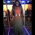 Star Wars The Force Despierta Hombres Niños Kylo Ren Cosplay adultos Kylo Traje Negro Jedi Robe Capa capote Kylo Ren Traje