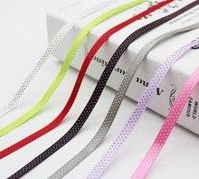 1/4 Inch  6 MM Swiss Dots Satin Printed 3 Small Polka Ribbon Spool Dotted Wrap Crafts Decoration DIY Bows 100 YARDS/ROLL