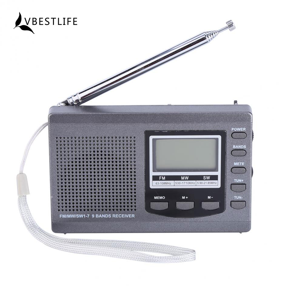 mini radio fm mw sw receiver multifunction portable. Black Bedroom Furniture Sets. Home Design Ideas