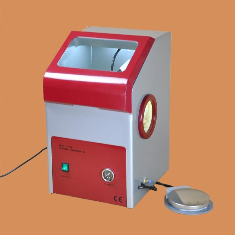 Dental Laboratory Equipment AX-P3 Recyclable Sandblaster Dental Sand Blaster with Dust Free Operation sand blaster for jewelry sand blaster for dental mini sand blaster for glass