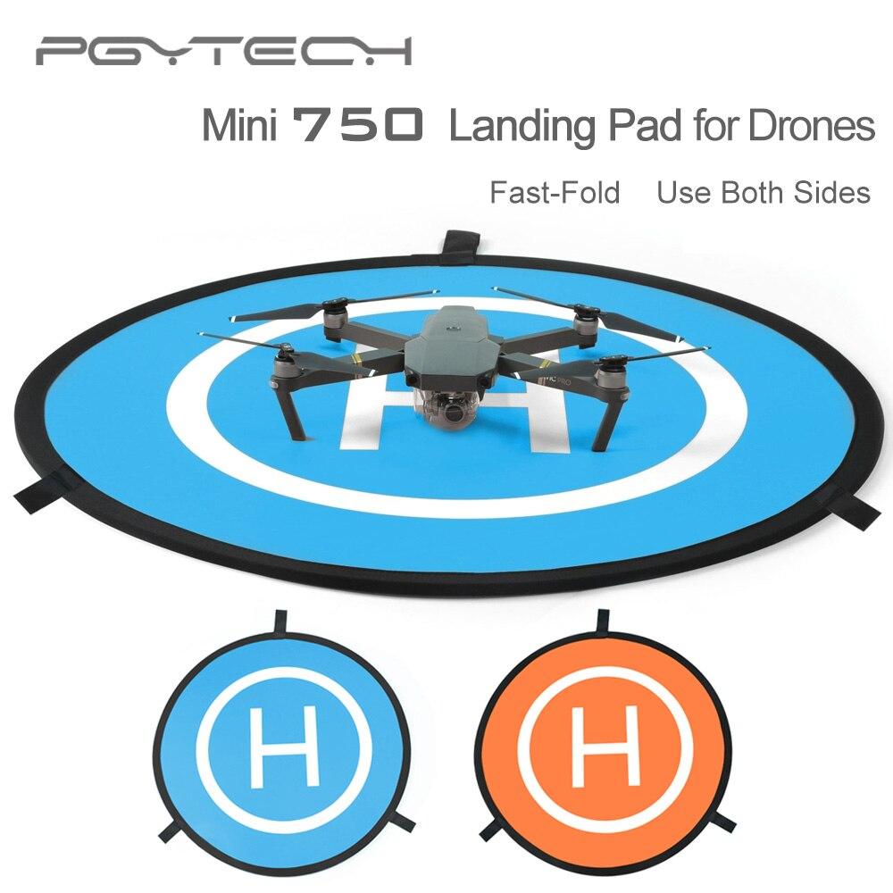 Prix pour PGY mini Fast-fold piste d'atterrissage pour DJI Mavic pro phantom 2 3 4 inspire 1 héliport RC Drone Quadcopter Hélicoptère pièces accessoires