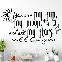 Pretty quotes Wall Sticker Wall Decal Sticker Home Decor For Kids Rooms Pvc Wall Decals