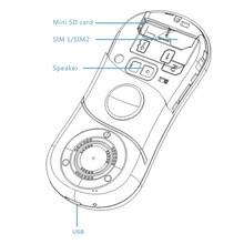 SERVO Fidget Spinner Mobile Phone 1.3inch Dual SIM