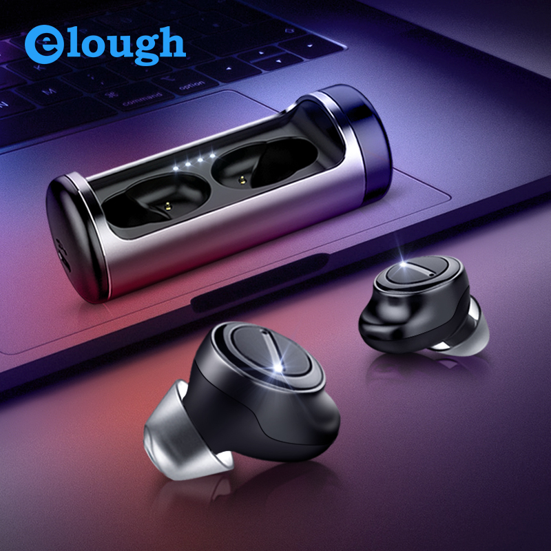 $34.99 Elough TWS Wireless Headphones Bluetooth Earphone for xiaomi samsung iPhone Ture Wireless Stereo Phone Headset Gaming Earbuds