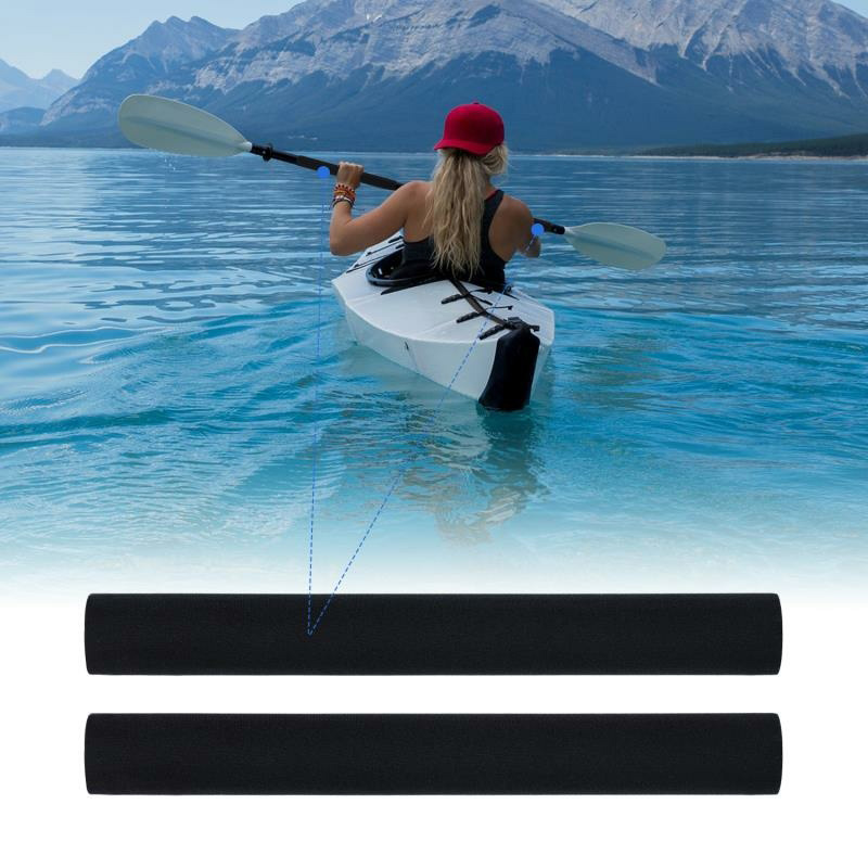 New 1 Pair Oar Cover Holder Soft Paddle Grips Prevent Blisters Rowing Boat Protective Kayak Canoe LMH66