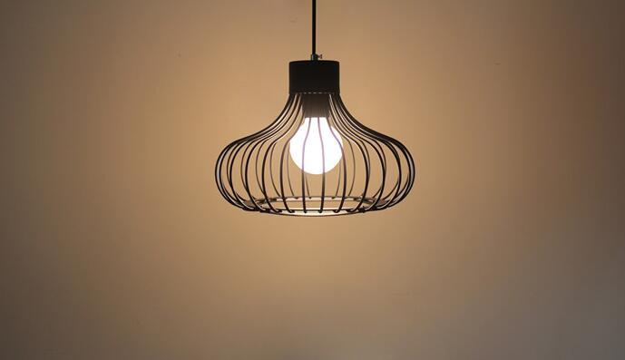 Современная Мода Железа Подвесной Светильник Гостиная Nordic Light Столовая Кулон Лампы, 23 см/36 см, Fast Free Shipping