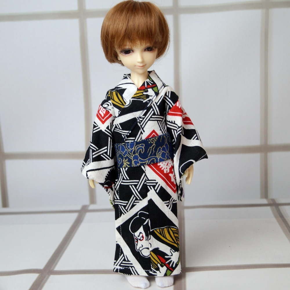 Devoted Ooak Japan Style Kimono Dress Outfits Clothing For 1/6 11 Tall Male Bjd Doll Yosd Dk Dz Aod Dd Doll Free Shipping Home