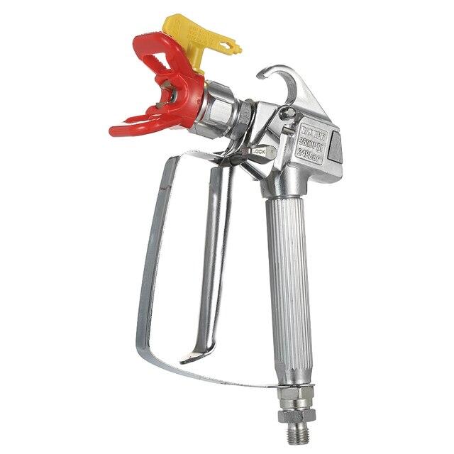 3600PSI High Pressure Airless Paint Spray Gun +517 Spray Tip + Nozzle Guard for Wagner Titan Pump Sprayer Spraying Machine