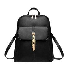 2016 sacs à dos en cuir femmes sac à dos sacs d'école étudiants sac à dos dames de femmes voyage sacs paquet