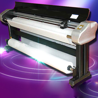 1PC Ink Jet Plotter H 215 Clothing CAD Inkjet Machine Sample Printer With Drawing Speed 80