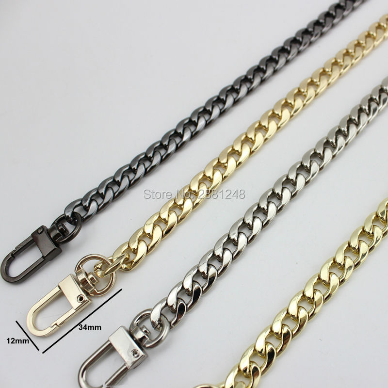 5pcs 9mm Width High-grade DIY Handle Accessory Bag With A Chain Of Hardware Accessories Package Repair  Chains Bags