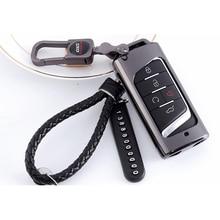 Lsrtw2017 Genuine Leather Zinc Alloy Car Key Case for Trumpchi Gs5 2012 2013 2014 2015 2016 2017 2018 2019 2020 цена